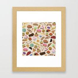 Desserts of NYC Cream Framed Art Print