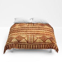 Embossed African Pattern Comforters