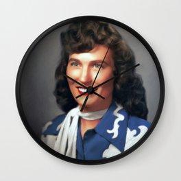Loretta Lynn, Music Legend Wall Clock