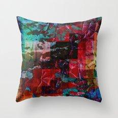 Vivid Prism Throw Pillow