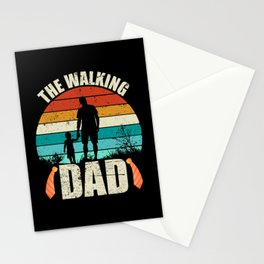 The Walking Dad Happy Father's Day Stationery Cards