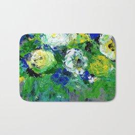 Abstract Floral - Botanical Bath Mat