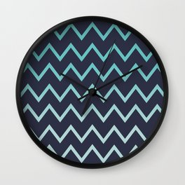 COZ patern. The 80s Wall Clock