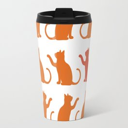 Cat Lineup Travel Mug