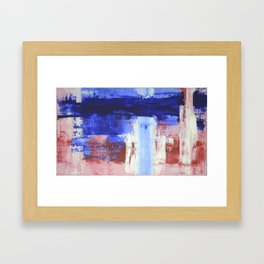 Stop at nothing Framed Art Print