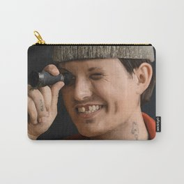 Portrait of Chritian Watson from 1924us Carry-All Pouch