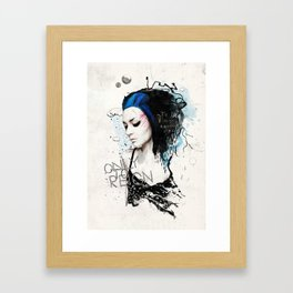 Amongst Stars Framed Art Print