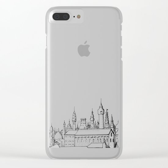 fabulous city Clear iPhone Case