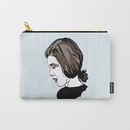 Delia Derbyshire Composer Cambridge Oxford England UK Wall Art Artist Musician Electronic  Carry-All Pouch
