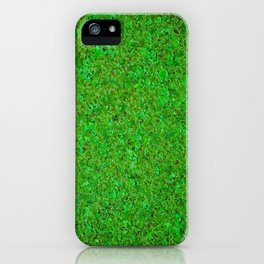 Closer Carpet on amazon river iPhone Case