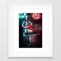 nurse Framed Art Prints featuring Nurse by Robert Palmer