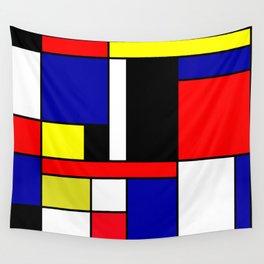 Mondrian #70 Wall Tapestry