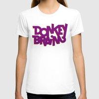 donkey T-shirts featuring Donkey Brain by Josh LaFayette
