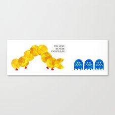 The Very Hungry Pacapillar - Variant Canvas Print