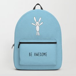 Be  Awesome - Blue Backpack