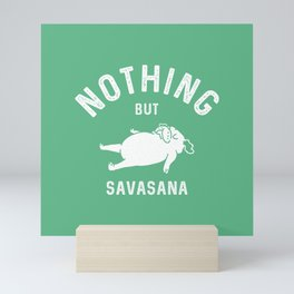 SAVASANA Mini Art Print
