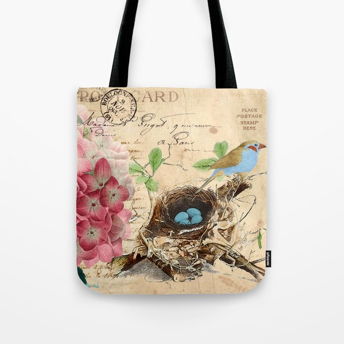 Vintage flower #15 Tote Bag