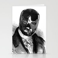 wrestling Stationery Cards featuring WRESTLING MASK 7 by DIVIDUS