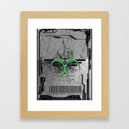 CONTAMINATE/ANNIHILATE II Framed Art Print