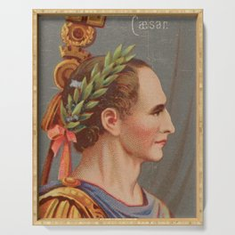 Vintage Julius Caesar Illustration (1888) Serving Tray