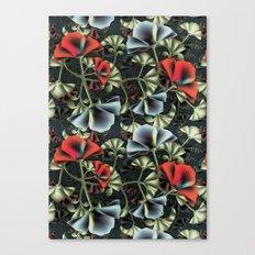 flores misteriosas Canvas Print