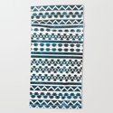 Ethnic pattern with watercolors by vanessagf