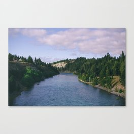 The Valley. Canvas Print