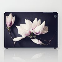 magnolia iPad Cases featuring Magnolia by Sirka H.