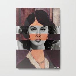 Modigliani's Seated Algerian Almaiisa & Ava Gardner Metal Print