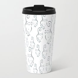 Scattered Silhouettes Travel Mug