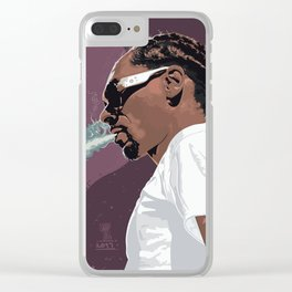 Snoop DOGG smoke Clear iPhone Case