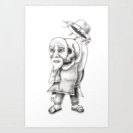 The huichol Art Print