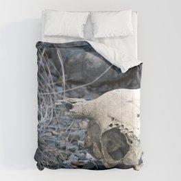 Desert Skull Two Comforters