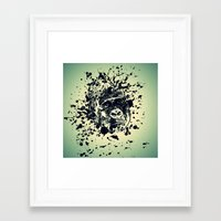 monkey Framed Art Prints featuring Monkey by WonderfulDreamPicture