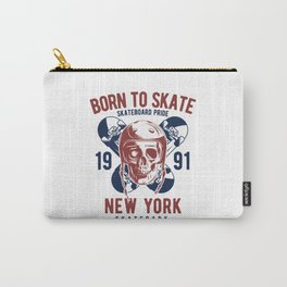 Born to Skate Carry-All Pouch