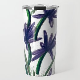 PurpleFlowers Travel Mug