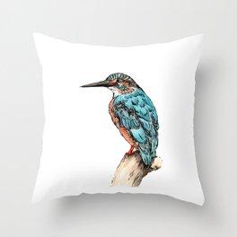 The Kingfisher Throw Pillow