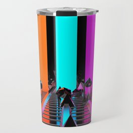 Rays of Light Travel Mug