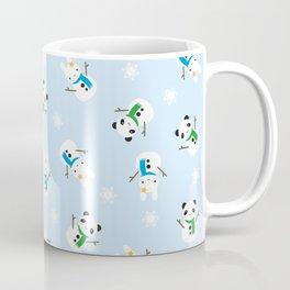 Snow Bunnies & Snow Pandas Coffee Mug