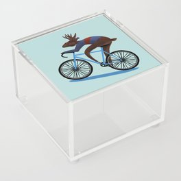 'Tis the season to be cycling Acrylic Box