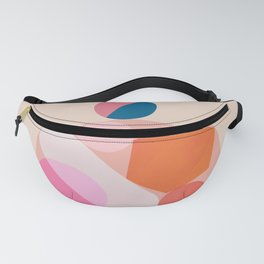 Abstraction_SHAPES_Minimalism_Happy_Together Fanny Pack