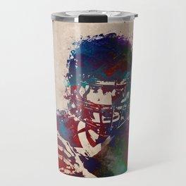 American football player 3 Travel Mug