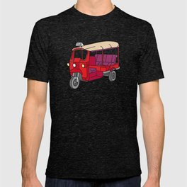 Red tuktuk / autorickshaw T-shirt