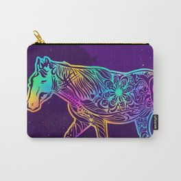 Dark night horse Carry-All Pouch