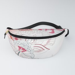 Vector flowers Fanny Pack