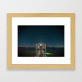 The Boat House 3 Framed Art Print