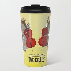 two cellos Travel Mug