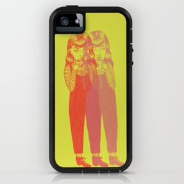 Seeing Double iPhone Case