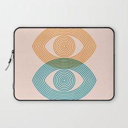 Abstraction_EYES_Minimalism_POP_ART Laptop Sleeve