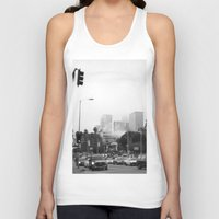 los angeles Tank Tops featuring Los Angeles by XtinaYo